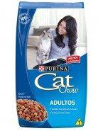 Embalagem Ração Cat Chow Adulto Peixe e Frutos do mar