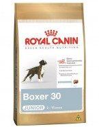 Embalagem Ração Royal Canin Boxer 30 Junior