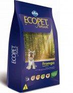 Embalagem Ração Ecopet Natural Frango Small Bites