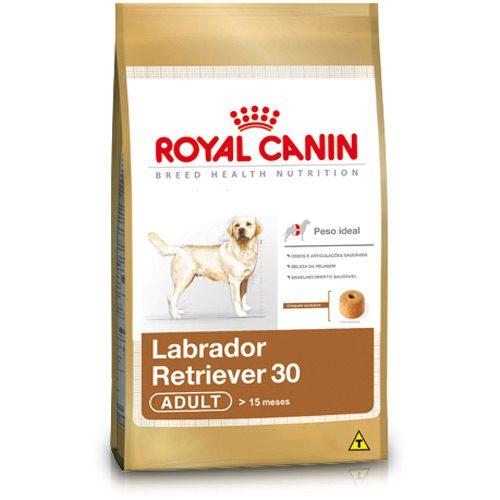 royal canin labrador retriever 30 adult 12kg casa da ra o. Black Bedroom Furniture Sets. Home Design Ideas