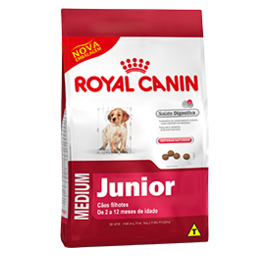 royal canin medium junior casa da ra o. Black Bedroom Furniture Sets. Home Design Ideas