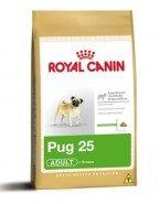 Embalagem Ração Royal Canin Pug 25