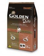 Embalagem Ração Golden Cão Adulto Duo Frango e  Mini Bits
