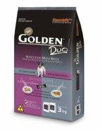 Embalagem Ração Golden Cão Adulto Duo Salmão Mini Bits