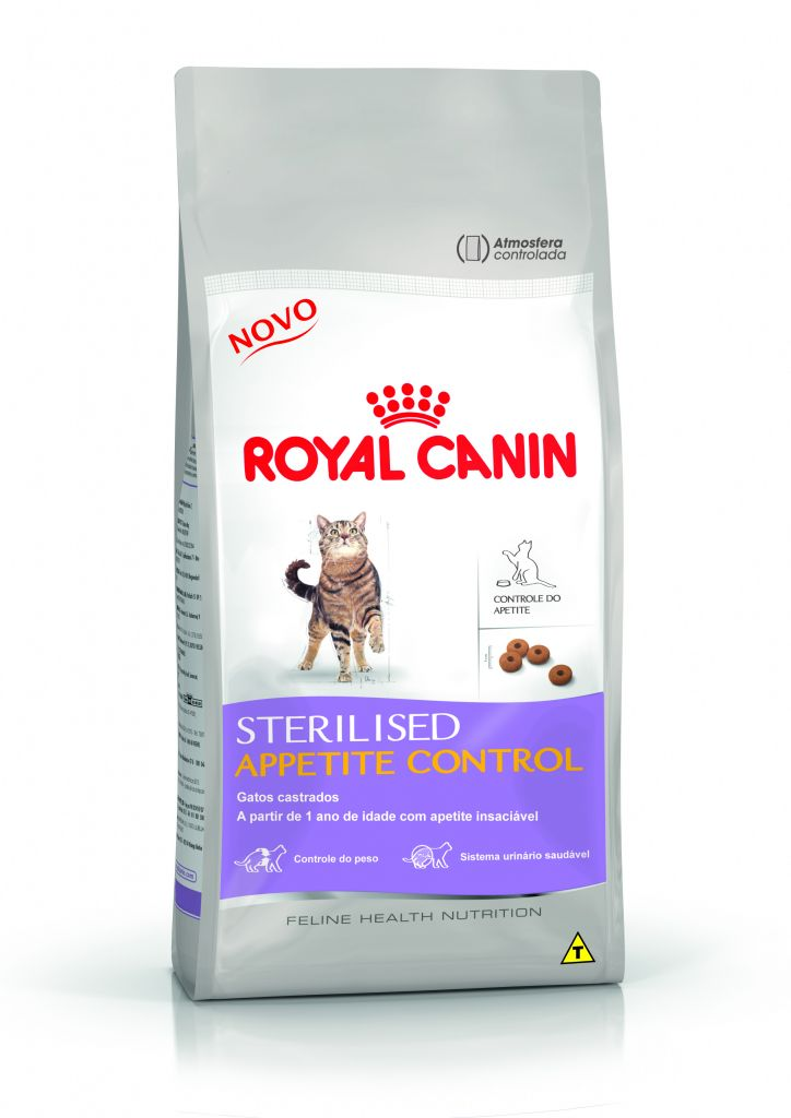 royal canin feline health nutrition sterilised appetite control casa da ra o. Black Bedroom Furniture Sets. Home Design Ideas