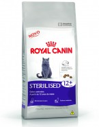 Embalagem Royal Canin Ração Feline Health Nutrition Sterilised 12+