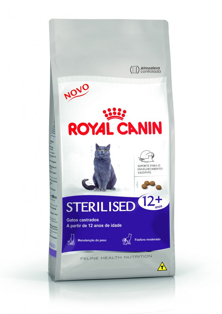 royal canin ra o feline health nutrition sterilised 12 casa da ra o. Black Bedroom Furniture Sets. Home Design Ideas