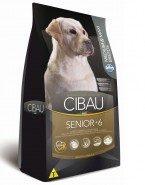 Embalagem Ração Cibau Senior Raça Media e Grande 6+