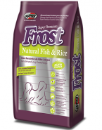 Embalagem FROST NATURAL FISH & RICE