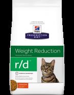 Embalagem HILLS PRESCRIPTION DIET GATOS R/D  WEIGHT REDUCTION